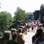 unterwegs zur Bastei - Sächsische Schweiz