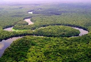 Der mächtige Kongofluss, der wassereichste Fluss Afrikas