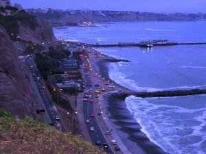 Costa Verde am Abend