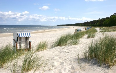 Am Lubminer Ostseestrand