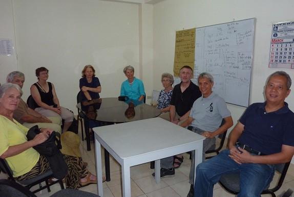 Begegnung mit Vincent und Manuel Perlas