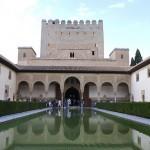 Der Alhambra Palast in Granada