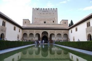 Alhambra Palast in Granada