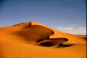Die großartigen Erg Chebbi-Dünen