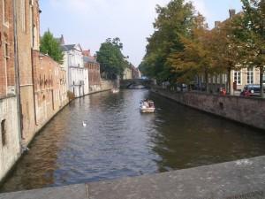 Grachtenrundfahrt durch die Kanäle in Brügge