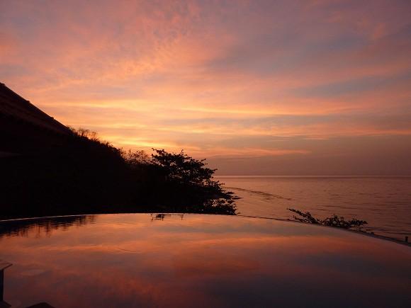 Sonnenaufgang auf der Insel Palawan