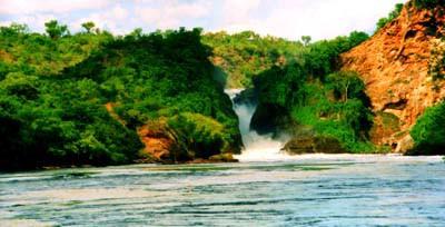 Die bekannten Wasserfälle im Murchinson Falls Nationalpark © A. Gutierrez