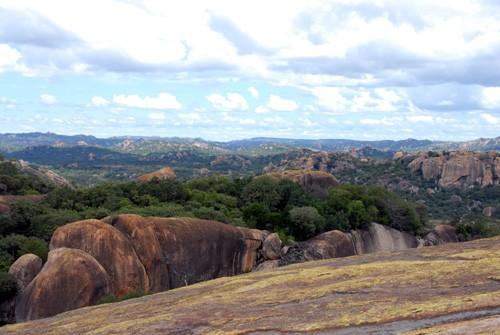 Simbabwe - Matobo - Bambata -auf dem Berg