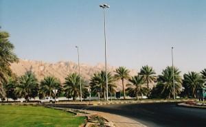 Straße nach Al Ain