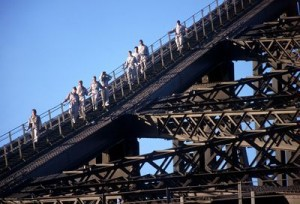 Bridgclimbing