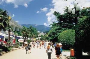 Jalta Uferpromenade
