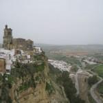 Arcos de la Frontera, eines der weißen Dörfer in der Provinz Cadiz