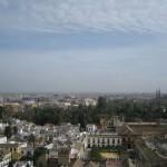 Von der Giralda hat man einen herrlichen Ausblick über die Stadt Sevilla