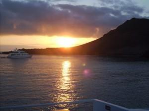 Sonnenaufgang-Bartolome-Island