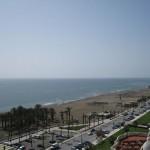 Der scheinbar endlos lange Strand von Torremolinos