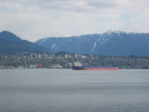 Blick Auf Nord Vancouver