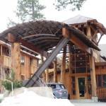 tolle Architektur im Cedar House Sport Hotel