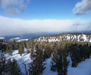 ein Blick auf den Lake Tahoe