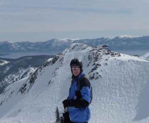 toller Ausblick auf die Bergwelt Squaw Valley