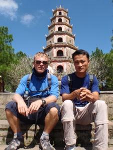Thien Mu Pagode in Hue - Vietnam