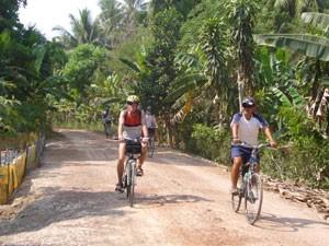 Radtour am Mekong-Vietnam