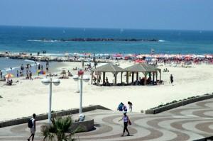 Strand von TelAviv