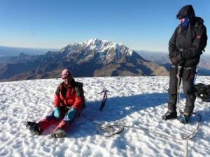 Gipfelblick vom Mururata