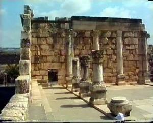 Synagoge in Kafarnaum (Galiläa)