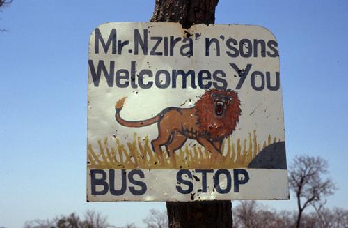 Unterwegs zwischen Karoi und Binga in Zimbabwe
