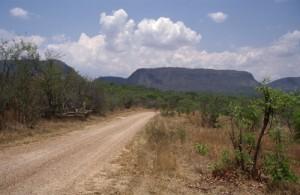 Kurz vor dem Chizarira Nationalpark