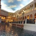 Gondelfahren Venetian Hotel Las Vegas