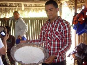 Casabe Brot aus Maniok