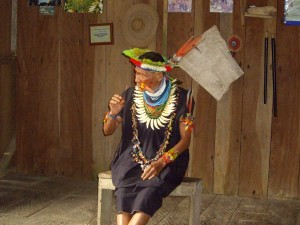 Cuyabeno Nationalpark Shaman