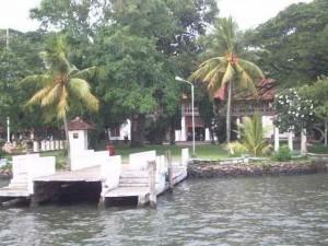 Der Bolghatti-Palast in Kochi wurde von den Holländern errichtet und ist heute ein exklusives Hotel