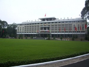 Der Independence oder Reunification Palace in Ho Chi Minh City in Vietnam
