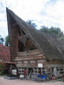 Bataker Haus Nord Sumatra Reise