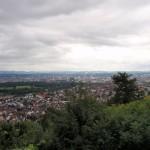 Stadtbesichtigung in der Schweiz - Basel am Rhein im Dreiländereck