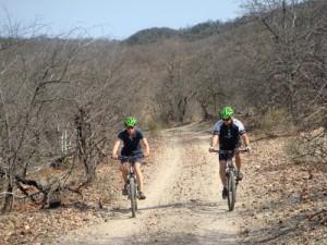 In Südafrika mit Mountainbikes unterwegs