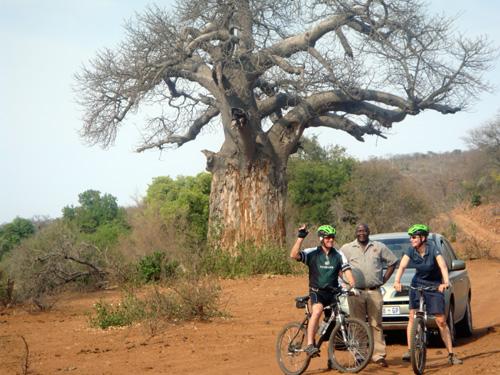 Mountainbike Tour in Südafrika - Makuya Game Reserve