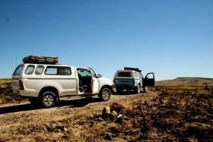 Allradfahrzeug, Namibiareise