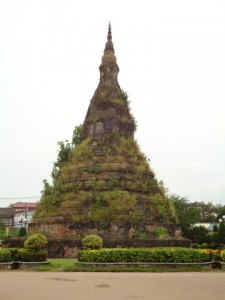 Stupa in Vientiane in Laos