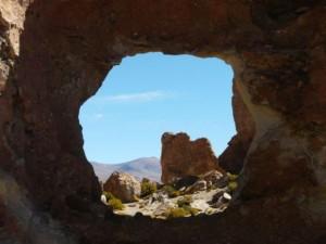 Bizarre Felsmformationen nahe Uyuni
