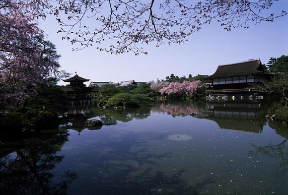 Japan Kyoto Heian Schrein