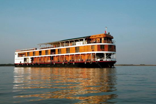 Myanmar Reise Flusskreuzfahrtschiff RV Paukan
