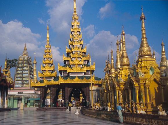 Myanmar Reise Shwedagon Pagode