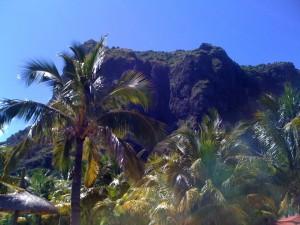 Der sagenumwobene erloschene Vulkan Le Morne