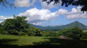 traumhaftes Panorama über die Urlaubsinsel