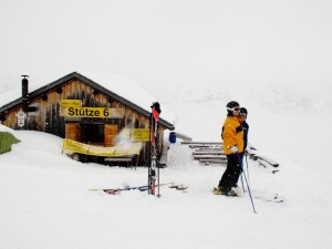 Alberts Hütte bei Stütze 6