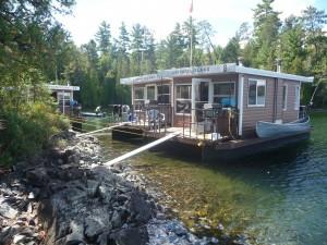 Unsere Hausboote mitten in der Wildnis Ontarios