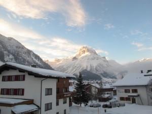Omesberg - ein Wahrzeichen von Lech